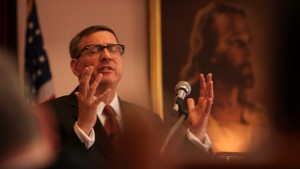 The Armor of Light - Rob Schenck preaching - Credit Jeff Hutchens