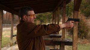 The Armor of Light - Rob Schenck with gun - credit Jeff Hutchens
